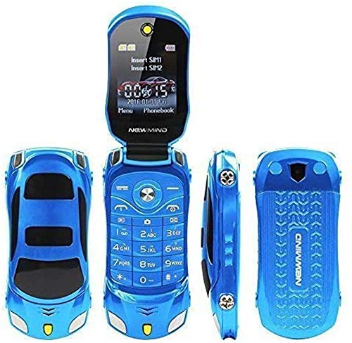 Cellulare F15MINI con sportellino in stile macchina sportiva, supporta GSM, scheda Dual SIM, MP3/MP4, 6colori