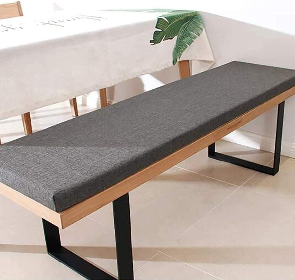 YXJD Rectangle Patio Seat Super special price Cushion with Soft Nashville-Davidson Mall Bench C Thick Zipper