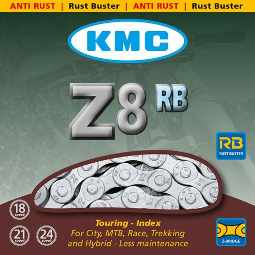 KMC Fahrradkette Z8rb Anti Rost, BXZ8RB16 - 2