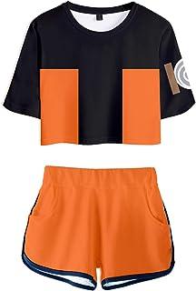 TUDUZ Shorts und Top Sets Damen Sommer Strand Zweiteiler Pumpkin Pie Drucken Tank Tops Sportbekleidung Streetwear Halloween Festliche Kleidung
