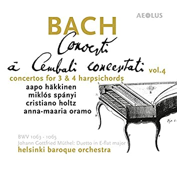 Bach: Harpsichord Concertos Vol. 4, Complete Concertos for three and four Harpsichords