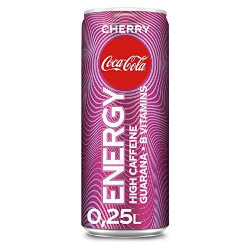 Coca-Cola Energy Cherry EINWEG, (1 x 250 ml)