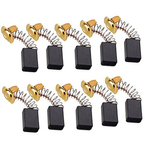 10pcs16X 11X 7mm Motor eléctrico escobillas de carbono para herramienta eléctrica taladro...
