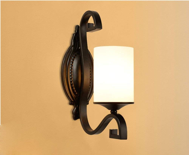 HhGold Die Schlafzimmer Nachttischlampe Wandleuchte Wandleuchte Retro Walk (Farbe   -, Gre   -)