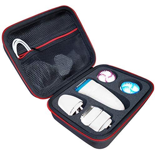 KOKAKO Case Tasche für Braun Silk-épil 9 SkinSpa Damen Epilierer Schutz-Hülle Etui Taschen Reisetasche