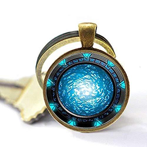 Stargate Portal Atlantis Schlüsselanhänger, Stargate Portal Atlantis Schlüsselanhänger, Stargate Portal Atlantis Schlüsselanhänger, personalisiertes Geschenk, Schlüsselanhänger