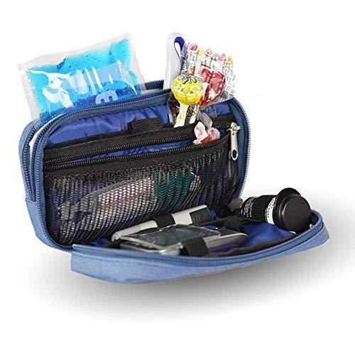 Bolsa estuche isotérmico para diabéticos   Modelo Diabetic´s   Mobiclinic   Color vaquero   Medidas: 17 x 10 x 6 centímetros   Diseño exclusivo y personalizado   Estuche para el kit de diabetes