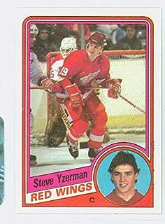 1984-85 Topps Hockey Steve Yzerman ROOKIE Detroit Red Wings Near-Mint