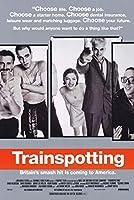 b直輸入、小ポスター、米国版「トレインスポッティング」ユアン・マクレガー、6018