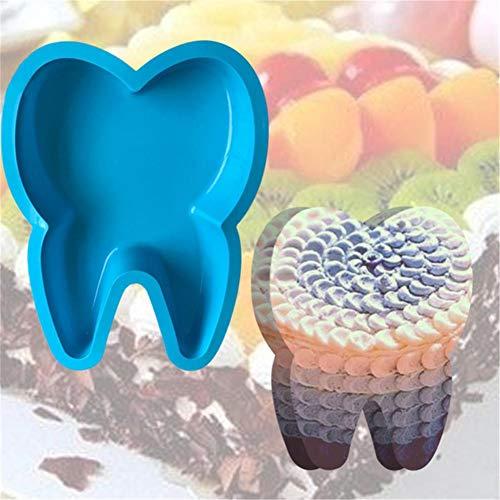 libelyef Silikon-Kuchen-Backform Mit Großen Zähnen Für Eindrucksvolle Kreationen, Hochwertige Silikon-Kuchenform