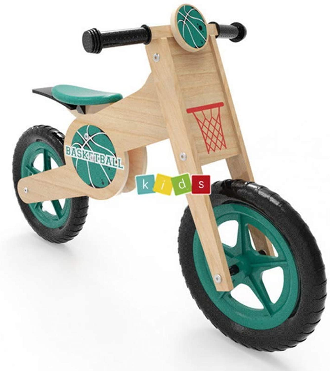 Balance Bikes for 4 Year Olds Wooden,Lightweight Training Cycle with 2 Wheels for Toddler Boys Girls First Birthday Gift