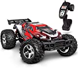 FAO Schwarz 1004043 Ultra-Fast Remote Controlled Off-Road Race Car 17.5 MPH RC Hobby Racer Monster Truck for Kids, Red/ Black, Pack of 1