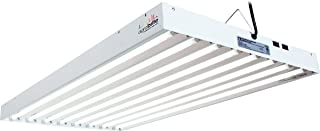 Hydrofarm Agrobrite FLT48 T5 Fluorescent Grow Light System, 4 Foot, 8 Tube