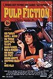 Close Up Pulp Fiction Poster (93x62 cm) gerahmt in: Rahmen