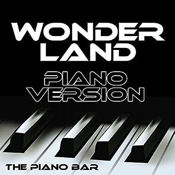 Wonderland (Piano Version)