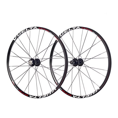 Vuelta MTB Pro DX Wheel Set, Black, 27 1/2-Inch -  Cycle Force Group, 811250740