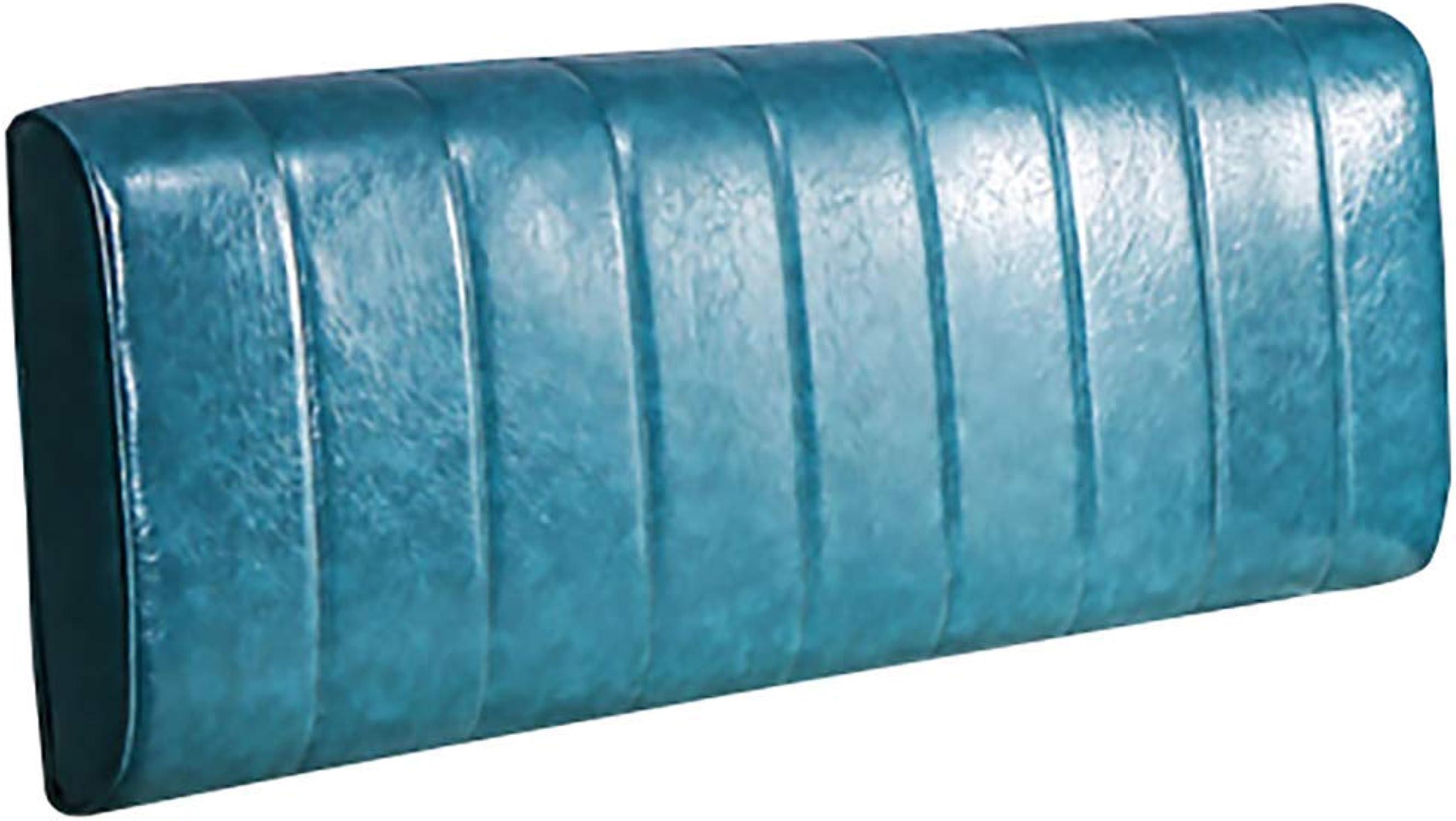 WZB Coussin de Chevet de tête de lit Remplissage Simple en éponge Respirante résistante à l'usure soutenant la Taille Facile à Lire, 4 Couleurs, 4 Tailles (Couleur  Bleu, Taille  120x10x60CM)