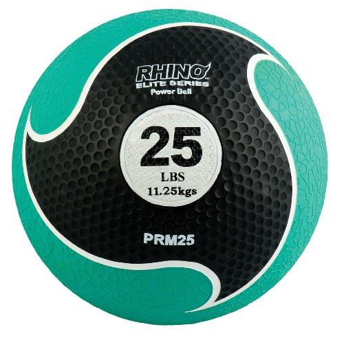 Champion Sports Rhino Elite Medizinball, 11,3 kg, Grün