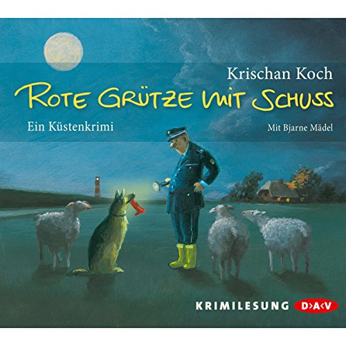 Rote Grütze mit Schuss     Thies Detlefsen 1              Autor:                                                                                                                                 Krischan Koch                               Sprecher:                                                                                                                                 Bjarne Mädel                      Spieldauer: 6 Std. und 14 Min.     3.982 Bewertungen     Gesamt 4,3