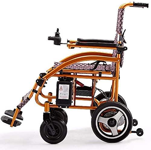 Silla recargable Silla de ruedas Silla de ruedas sin escobilla Silla de ruedas Silla plegable Manual para personas mayores