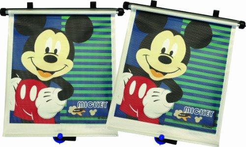 Disney Baby Y10070MP - Pack de 2 protectores solares para ventanilla, diseño Mickey Mouse