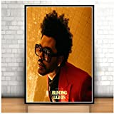 The Weeknd Blinding Lights Starboy Rap Musikalbum Poster