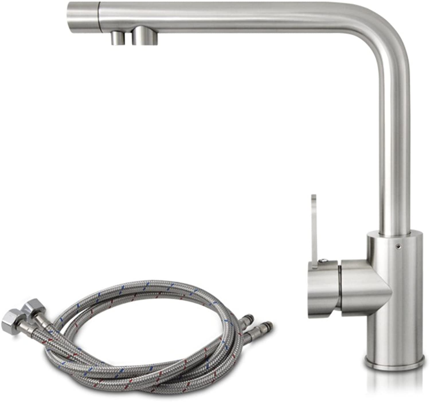 ZHF Lead-free stainless steel faucet Sink faucet Tap both hot and cold Filter Faucet-A