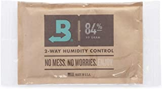 Boveda for Cigars | 84% RH 2-Way Humidity Control for Humidor Seasoning | Size 60 for Use..