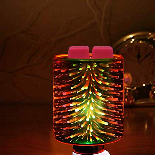 Angel Aroma Only Household Candle Heater Plug-in Aromatic Wax Melting Heater, Glass 3D Effect Night lamp, Aromatherapy humidifier Aromatherapy Aromatherapy Essential Oil Aromatherapy