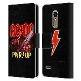 Head Case Designs sous Licence Officielle AC/DC ACDC PWR Up Power Up Coque en Cuir à Portefeuille...