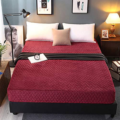 SySP Matrasbeschermer, warm houden – ademende matrasbeschermer, matrasbeschermer zonder knispers, onderbed soft-matras-topper