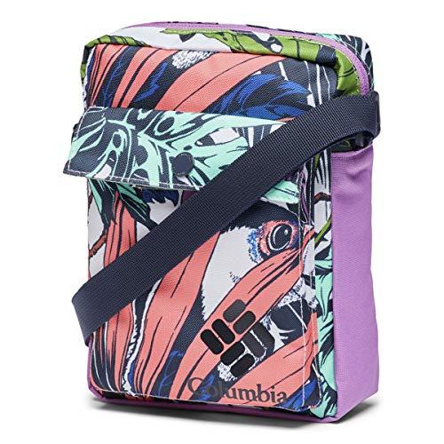 Columbia Unisex's Zigzag Side Bag, White, O/S