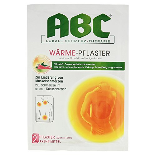 Hansaplast Med Abc Waerme Pflaster Capsicum