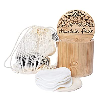 Mandala Pads® Wiederverwendbare Wattepads