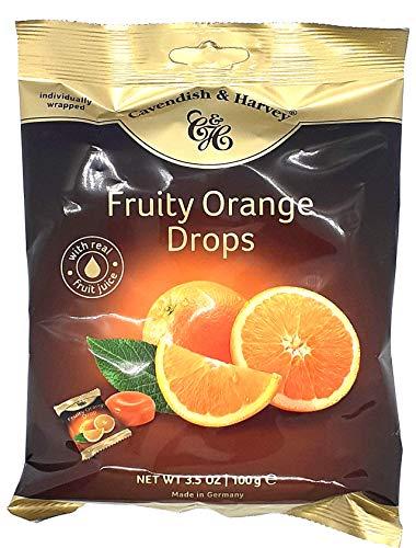 Cavendish & Harvey Fruity Orange Drops, einzeln verpackt 1 x 100g