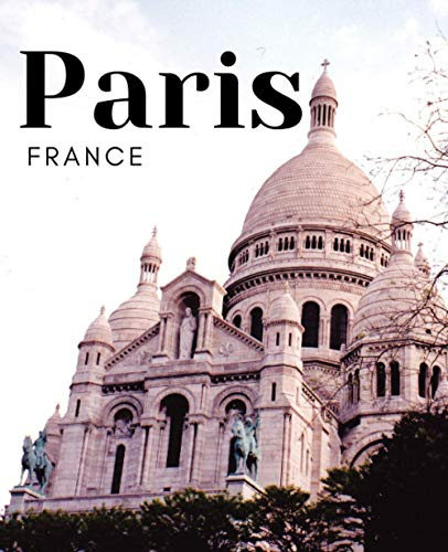 Paris France: A Decorative Book for Coffee Tables, Bookshelves, Interior Design Styling & End Tables ( WITH CONTENT ) Stack Decor Books to Add Home ... Ideal for Your Own Home Decor or as a Gift