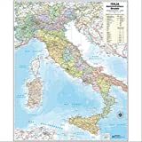 Italia amministrativa e stradale (carta grande)