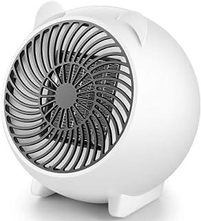 SYGF Calentador EléCtrico, Calentador RáPido De Elemento Calefactor PTC, ProteccióN contra Sobrecalentamiento Y Vuelco, Calentador De Escritorio PortáTil De Baja EnergíA