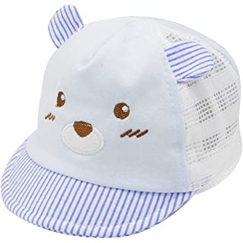 Weixinbuy Kid Boys Girls Cute Ears Adjustable Velcroback Baseball Caps Sun Hat
