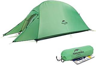 Naturehike CloudUp1 テント 1人用 設営簡単 超軽量 コンパクト 二重層 3シーズン 防風 防雨 アウトドア フィールドキャンプ ソロツーリング 登山 ハイキング サイクリング