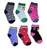 Isakaa Boy's and Girl's Fleece Cotton Fairy Cotton Socks (3-4 Years) - Pack