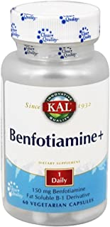 Kal 150 Mg Benfotiamine Plus Tablets, 60 Count