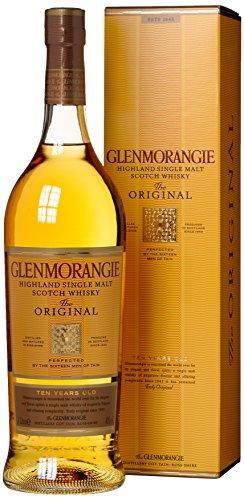 Glenmorangie The Original 10 Jahre mit Geschenkverpackung (1 x 1 l)