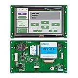 Módulo de Pantalla LCD TFT Inteligente HMI de 5 Pulgadas con Controlador Programa Interfaz en Serie UART