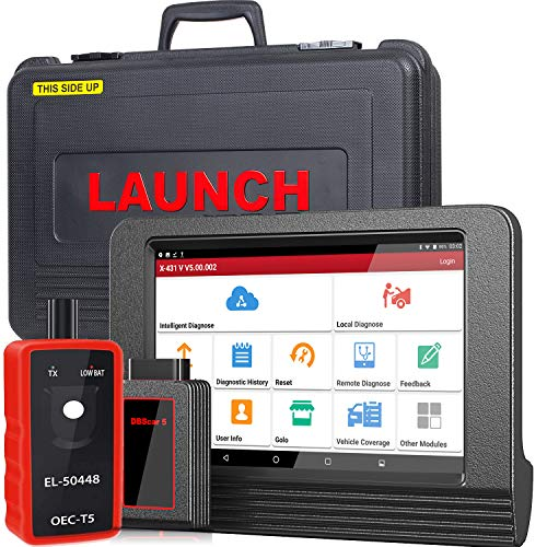 Buy Discount LAUNCH X431 V PRO Bi-Directional Scan Tool OBD2 Scanner Full System Scanner with ECU Co...