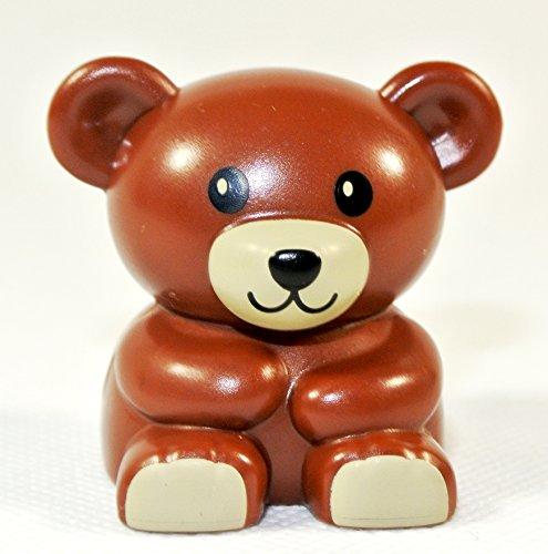 Teddy Bär braun (Lego Duplo Custom Set)