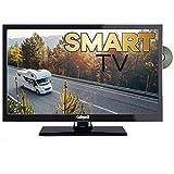 Gelhard GTV 2252 Smart TV 55 cm (22 Zoll) Fernseher 12 Volt/ 230 Volt, WLAN, Internet, DVD, USB …