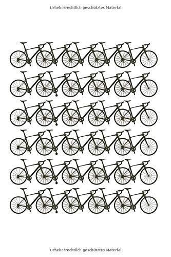 Fahrräder: 6X9 Zoll Notizbuch – Liniert – Din A5 Heft Für Fahrradfahrer Mit 120 Seiten| Tagebuch Planer | Notiz Buch Geschenk Journal Notebook Logbuch
