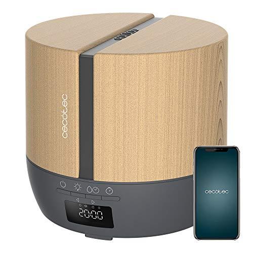 Cecotec Difusor de aromas PureAroma 550 Connected Grey Woody. Capacidad 500ml,...
