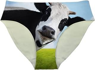 Cute Animal Print Panties Seamless Underwear for Women